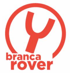 Logo R in bianco